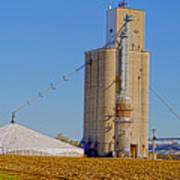Grain Storage Hdr No1 Art Print