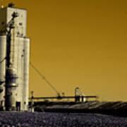 Grain Storage Infrared No2 Art Print