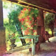 Gramma's Front Porch Art Print