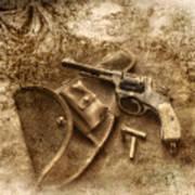 Grammas Gun 2 Art Print