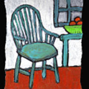 Grampa's Empty Chair Art Print