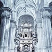 Granada Cathedral Interior Art Print