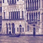 Grand Canal 2. Venice Italy Art Print