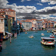 Grand Canal Daylight Art Print