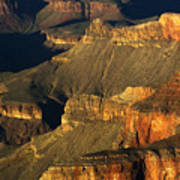 Grand Canyon Arizona Light And Shadow 1 Art Print