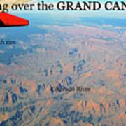 Grand Canyon Flight Art Print