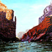 Grand Canyon Iv Print by Stan Hamilton