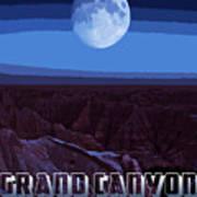 Grand Canyon Nights Art Print