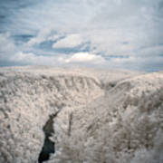 Grand Canyon Of Pa In Infrared Art Print