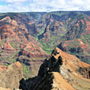 Grand Canyon Of The Pacific Art Print