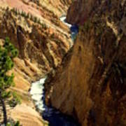 Grand Canyon Of The Yellowstone 2 Art Print