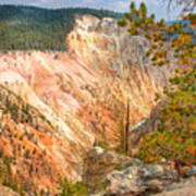 Grand Canyon Of The Yellowstone Art Print