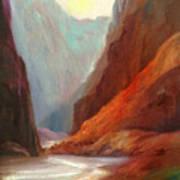 Grand Canyon Rafting Art Print