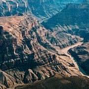 Grand Canyon River Art Print