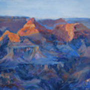 Grand Canyon Study Art Print by Billie Colson
