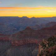 Grand Canyon Twilght Art Print