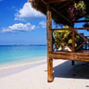 Grand Cayman Relaxing Art Print