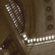 Grand Central Rosettes Art Print