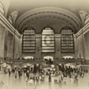 Grand Central Terminal Vintage Art Print