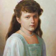 Grand Duchess Anastasia Nikolaevna Of Russia Art Print