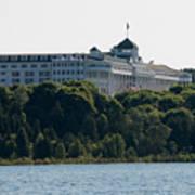 Grand Hotel On Mackinac Island Art Print