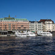 Grand Hotel Stockholm Art Print