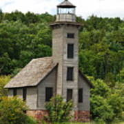 Grand Island Lighthouse Art Print