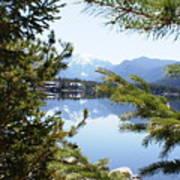 Grand Lake Co Mt Baldy Spring II Art Print