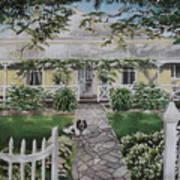 Grand Old Home Art Print