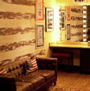 Grand Ole Opry House Backstage Dressing Room #5 In Nashville, Tennessee. Art Print