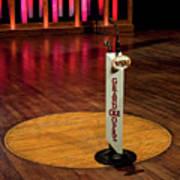 Grand Ole Opry House Stage Flooring - Nashville, Tennessee Art Print
