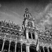 Grand Place Architecture Brussels  Art Print