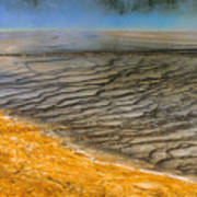 Grand Prismatic Runoff Art Print