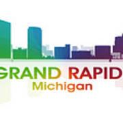 Grand Rapids Mi Art Print