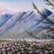 Grand Teton Mountains Art Print