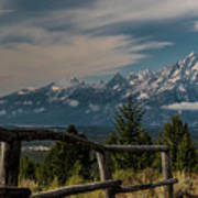 Grand Teton Signal Mountain Art Print