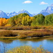 Grand Tetons 3 Art Print