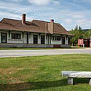 Grand Trunk Railroad - Gorham New Hampshire Art Print