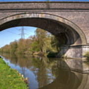 Grand Union Canal Bridge 181 Art Print