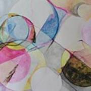 Grande' Circles Art Print