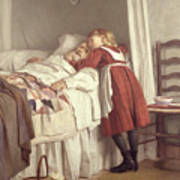 Grandfathers Little Nurse Art Print