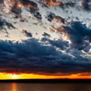 Grandiose Sky On Grand Lake Art Print