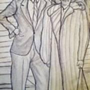 Grandma And Grandpa Albee Art Print