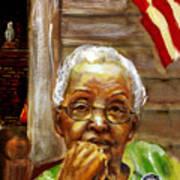 Grandma For Obama Art Print by Gary Williams