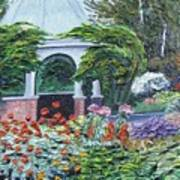 Grandmother's Garden Flowers Art Print