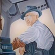 Grandpa Albee Art Print