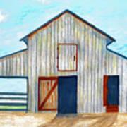 Grandpa's Barn Art Print