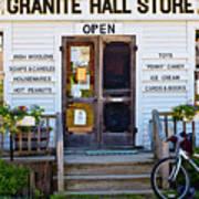 Granite Hall Store  Art Print