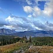 Granite Park - Glacier National Park Art Print