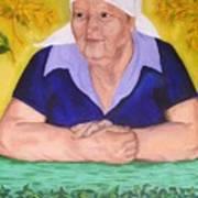 Granny Katiya Art Print